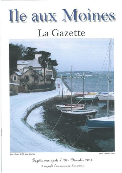 Gazette n°28 ile-aux-moines