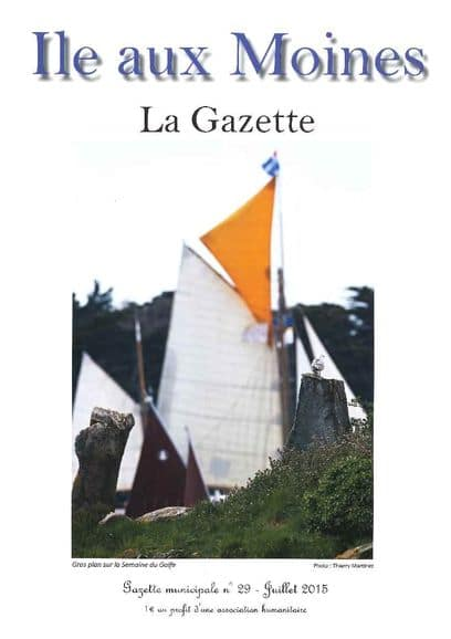 Gazette n°29 ile-aux-moines