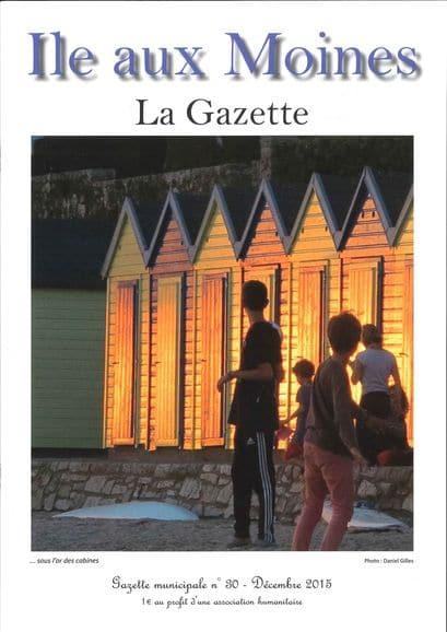 Gazette n°30 ile-aux-moines