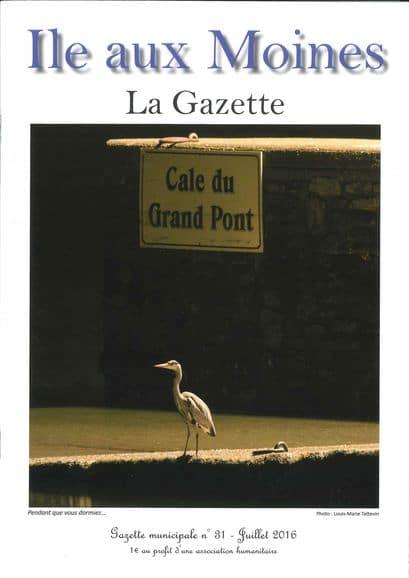 Gazette n°31 ile-aux-moines