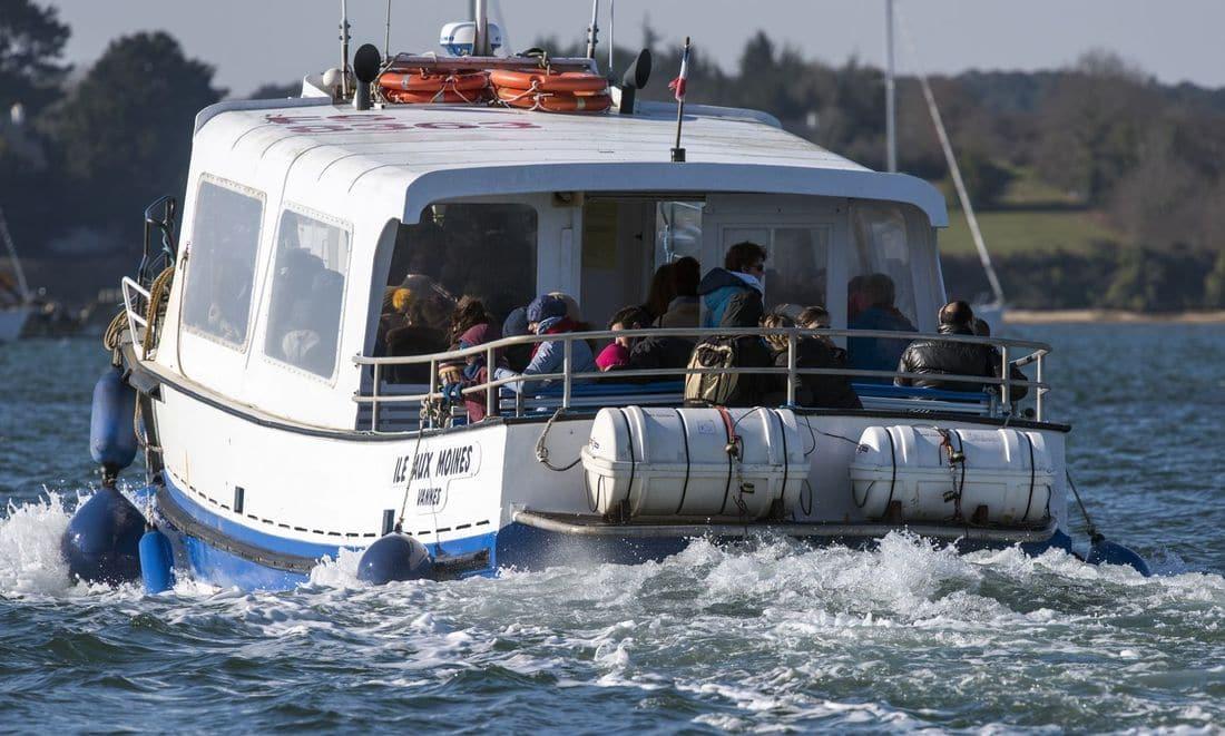 traversée en bateau pour l'île-aux-moines