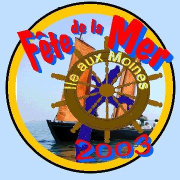 logo association fete de la mer île-aux-moines